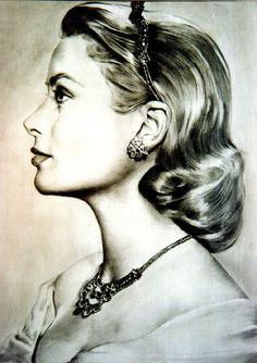 Grace Kelly by Yousuf Karsh.