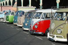 Brighton and VW Campers,made for each other.Brighton Breeze 2011