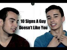 10 Signs A Guy Doesn't Like You Or Isn't Interested @Devon Ridens @Bobbie Tidwell @Renee Golden @Elissa Morris @Daniel Craven