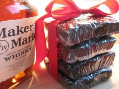Maker's Mark Kentucky Bourbon Whiskey Brownies