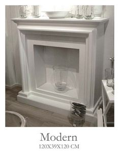 Fake fireplace