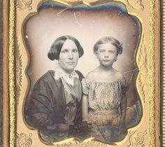 CWFP: Mother and Child Daguerreotype for Sale: Daguerreotype Photograph - ed84