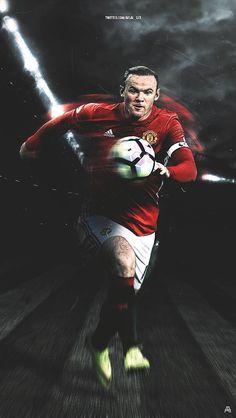One in a million player❤⚽ Legends Football, Football Icon, Best Football Team, Old Trafford, Man Utd Fc, Manchester United Wallpaper, Wayne Rooney, Best Club, Manchester United Football