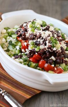 Layered Greek Dip #Beanitos #tailgating