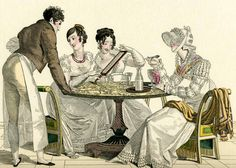 Regency Ice cream, maybe eating it at Gunther's in Berkeley Square
