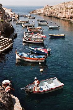 Malta. Blue Grotto Port by Vinaixa
