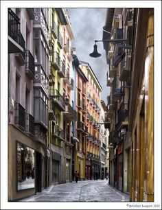 Calle Zapatería Pamplona by Aitziber Luquin on 500px
