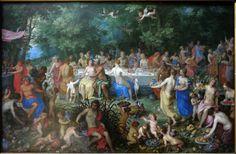 Les Noces de Thétis et Pélée, Hendrick van Balen (Musée du Louvre)