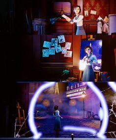 Dreaming Of Paris Bioshock 1, Bioshock Infinite, Bioshock Elizabeth, Video Games, Paris, Videogames, Montmartre Paris, Video Game, Paris France