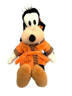 Disney Mickey Mouse Clubhouse Goofy In Dressing Gown Plush Toy Walt Disney Disney Mickey Mouse Clubhouse, Jellycat, Build A Bear, Tigger, Walt Disney, Plush, Gown, Dressing, Cases