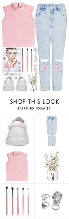 """""""there is only one YOU"""" by alienbabs ❤ liked on Polyvore featuring RED Valentino, LSA International, clean, organized and twinkledeals"""