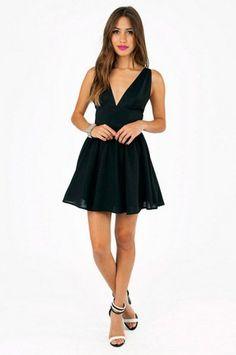 Little Black Dress - Kassandra Skater Dress