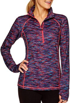 3fd703bbfe1ca Xersion™ Long-Sleeve Half-Zip Pullover - JCPenney
