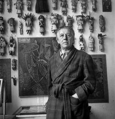 El poeta francés André Breton (1896-1966), el Papa del movimiento surrealista. LIPNITZKI / COLECCIÓN ROGER-VIOLLET.Rescate del poeta náufrago | Cultura | EL MUNDO