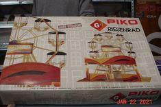 Piko G scale 1:22 1:25 RARE Working Risenrad Ferris Wheel Kit #62101 #Piko Model Car, Model Kits, Car Parts For Sale, Ferris Wheel, Motor, Scale, Ebay, Weighing Scale, Libra