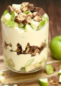 Delicious Apple Snickers Salad - one of our favorites to make in the summer { lilluna.com }
