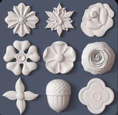 printer design printer projects printer diy art art architectural kit bash model obj stl 20 you can find simi. Plaster Art, 3d Cnc, Wood Carving Designs, Arts And Crafts, Paper Crafts, Pottery Sculpture, Art Nouveau, Ornaments Design, Polymer Clay Art