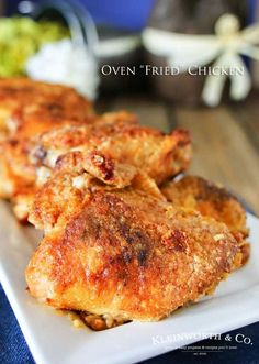 Oven Fried Chicken f