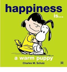 Happiness is...a warm cat will do if you don't have a puppy