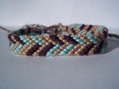 Broken Chevron Friendship Bracelet
