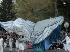 Whale Puppet -- how about an octopus puppet or other Steampunk idea?