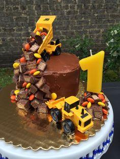 Little Boys Construction Birthday Party Kit par MabelStreet