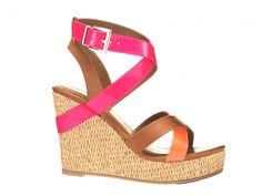 Colorblock Sandals..cute for summer!