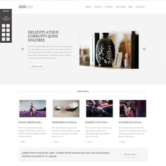Finding a beautiful theme for your blog or portfolio site? Find no more! You just come across it. Chililight Portfolio Wordpress theme is specially designed for a great and professional looking of your site.