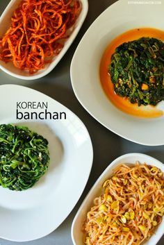 Korean Banchan Recipes // South Korean Food Recipes.