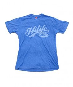 Men's HiLife Premium Tee - Baseballer; Color Options: Premium Heather and Royal Heather. $27.00 Available online at islandsnow.com and at the Island Snow Hawaii Kailua Beach Center location.