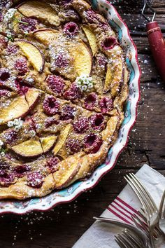 Raspberry, Nectarine, and Sweet Corn Clafoutis | 31 Delicious Things You Need To Cook In August