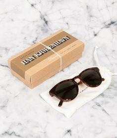HAN KJØBENHAVN Timeless Sunglasses amber