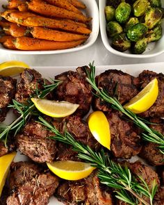 #TGIBF! Hope everyone had a positive black Friday!  Grilled lemon rosemary lamb chops with roasted carrots, brussel sprouts and jasmine rice for dinner tonight. Happy weekend y'all! @zimmysnook