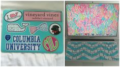 How to decorate a laptop with stickers PROPERLY- not too cluttered and super cute!!