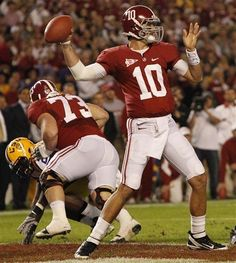 Aj McCarron - quietly and consistantly the best quarterback in the SEC #Sabantrademark