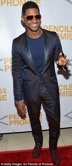 Usher in aviators