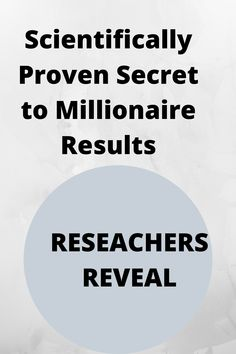 SCIENTIFICALLY PROVEN SECRET TO MILLIONAIRE RESULTS. CLICK THE LINK TO FIND OUT WHAT THE RESAERCHERS ARE SAYING Make Money Online, How To Make Money, Secret Quotes, Growth Mindset, Passive Income, The Secret, Affirmations, How To Find Out, Sayings