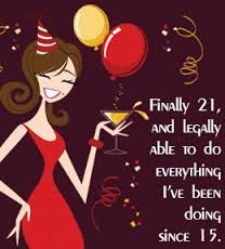 Image result for funny 21st birthday quotes