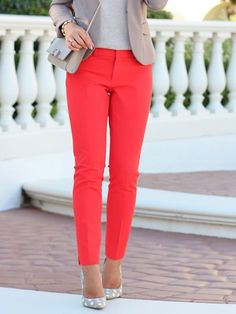 Fashion Fix: Gekleurde pantalon - My Simply Special