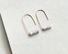 Boucles d'oreilles de MARCEL onyx noir par morningritualjewelry