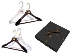 #0005. Gift Box: 4 Piece Men's/Women's Classic Hanger Set #$ 79.00
