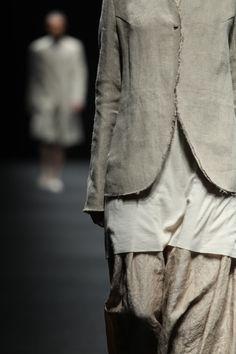 linen jersey silk & raw edges - lin jersey soie et bords francs ellixelle