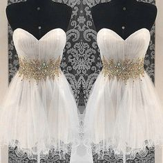 Beautiful Strapless Short Homecoming Dresses,Classy Homecoming Dress,Pretty Graduation Dresses sold by Shop more products from on Storenvy, the home of independent small businesses all over the world. Classy Homecoming Dress, Lace Homecoming Dresses, Beaded Prom Dress, Prom Party Dresses, Bridesmaid Dresses, Formal Dresses, Graduation Dresses, Dress Prom, Tulle Dress
