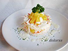 Blog de cuina de la dolorss: Ensalada de arroz con piña