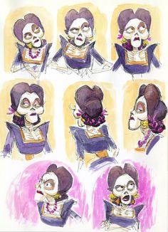 The art of pixar's coco pixar concept art, disney concept art, drawing cartoon characters Batman Concept Art, Pixar Concept Art, Fallout Concept Art, Alien Concept Art, Fantasy Concept Art, Creature Concept Art, Disney Concept Art, Disney Sketches, Disney Drawings