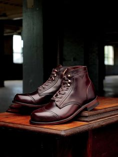 Demi Chic wolverine dress shoes http://wingtip.com/product/wolverine/courtland-boot/36271 pair of Wolverine's limited edition 721 LTD boot of which only 1,000 hand-numbered pair are available. http://www.esquire.com/blogs/mens-fashion/wolverine-721ltd-boots-092710