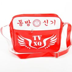 KPOP TVXQ JYJ fashion single shoulder backpack