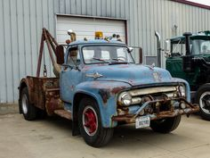 ... Rusty Old 1953 F800 Ford Big Job Tow Truck | by J Wells S