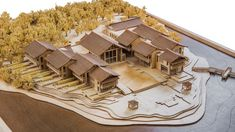 WEI Retreat Tianmu Lake, by Archilier Architecture WEI Retreat Tianmu Lake, by . Maquette Architecture, Architecture Model Making, Chinese Architecture, Architecture Portfolio, Concept Architecture, School Architecture, Landscape Architecture, Architecture Design, India Architecture