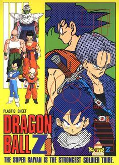 Dragon Ball Z shitajiki 1993 Dbz, Dragon Ball Z Shirt, Dragon Ball Gt, Akira, Saga, Manga Dragon, Fan Art, Son Goku, Goku 2